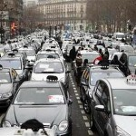 taxi strike paris 3