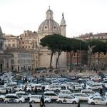 taxi strike rome 2