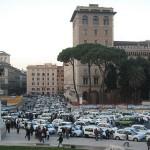 taxi strike rome 3